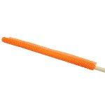 "RoadPro 18"" x 18"" Orange Mesh Flag w/ Wooden Dowel"