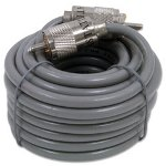 Astatic 18' Coaxial Cable with PL259 Connectors