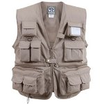 Uncle Milty Khaki Travel Vest 2XL