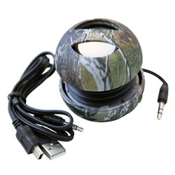 FoneGear Realtree Camo Wired Speaker, Green