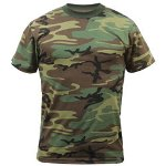Rothco Woodland Camo Design T-Shirt
