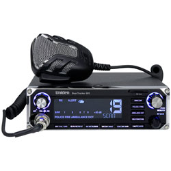 Uniden Hybrid CB Radio, Digital Scanner with BearTracker Warning System