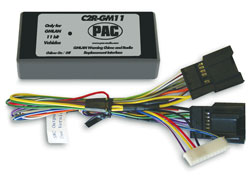 PAC Radio Replacement Interface for GM LAN Vehicles without OnStar 2007-Up Chevys