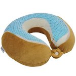 Gel & Go Cool Gel Memory Foam Neck Pillow