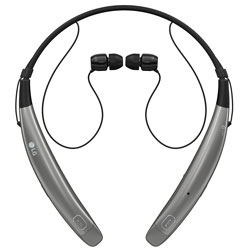 LG Mobilecomm LG Tone Pro Premium Wireless Stereo Headset, Gray