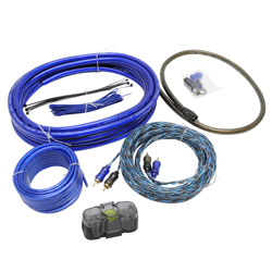 MobileSpec 4 Gauge Amplifier Installation Kit