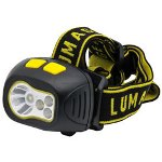 LUMAgear Head Lamp with Tilt, 250 Lumens