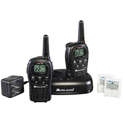 Midland Two Way Radios Value Pack with 24 Mile Range, Pair
