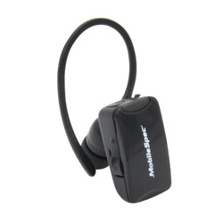 MobileSpec Mono Bluetooth In-Ear Headset, Camera Ready
