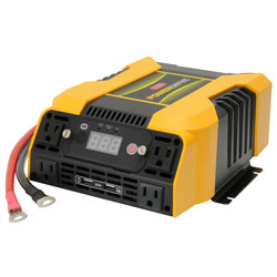 PowerDrive 1500 Watt Power Inverter w 4 AC, 2 USB, Bluetooth