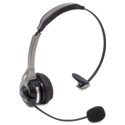 RoadKing Wireless Noise Canceling Headset, Bluetooth, Dual Mic Design
