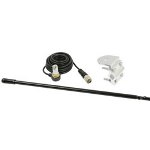 3' Platinum Series Single Mirror Mount CB Antenna Kit, 1000W