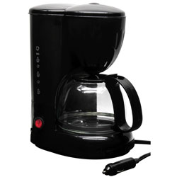 RoadPro 12V Coffee Maker with Glass Carafe