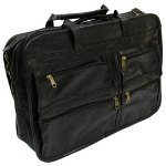 "RoadPro 17""x12"" Leather Like Soft Sided Briefcase"