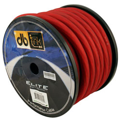 Marvelous Db Link Wiring 0 Gauge Super Flex Series Power Cable Spool 50 Red Wiring Digital Resources Sulfshebarightsorg