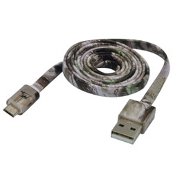 MobileSpec 3' Charge & Sync Micro to USB Cable, Camouflage
