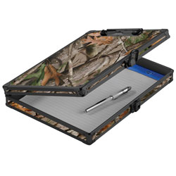 "Vaultz 8.5""x11"" Locking Storage Clipboard, Camo"