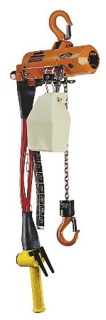 Air Powered Chain Hoist, 250lb