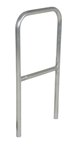 "Aluminum Pipe Safety Railing, 24""L"