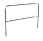 "Aluminum Pipe Safety Railing, 72""L"