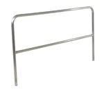 "Aluminum Pipe Safety Railing, 84""L"
