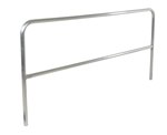 "Aluminum Pipe Safety Railing, 96""L"