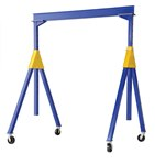 Steel Knockdown Gantry Crane, 2k, 20'L x 16'H