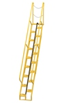 Alternating Tread Ladder, 11ft High