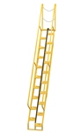 Alternating Tread Ladder, 12ft High