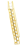 Alternating Tread Ladder, 13ft High