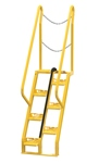 Alternating Tread Ladder, 4ft High