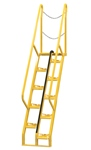 Alternating Tread Ladder, 6ft High