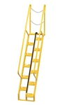 Alternating Tread Ladder, 7ft High