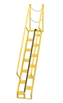Alternating Tread Ladder, 8ft High