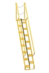 Alternating Tread Ladder, 9ft High