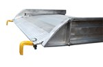 "Aluminum Walk Ramp, Hook, 28"" x 49-5/16"""