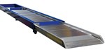 "Aluminum Walk Ramp, Truck Mounted, 28"" x 144"""