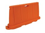 Stackable Poly Barricade, Orange