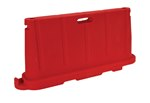 Stackable Poly Barricade, Red