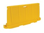 Stackable Poly Barricade, Yellow