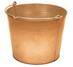 Bronze Pail, 2-1/2 Gallon