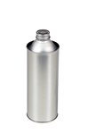 Tin Plate Metal Bottle, 16 oz.