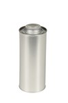 Tin Plate Metal Bottle, 32 oz.