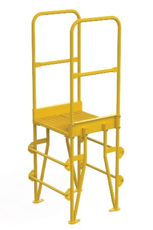 "Cross Over Ladder, Vertical, 3 Step, 8"" Span"