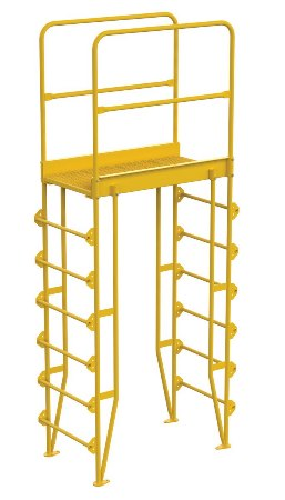 "Cross Over Ladder, Vertical, 7 Step, 32"" Span"