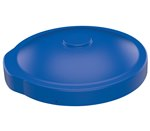 55 Gallon Drum Cover, for Open or Closed Heads, Blue