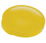 55 Gallon Drum Cover, for Open or Closed Heads, Yellow