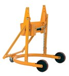 Manual Drum Carrier, Rotator, 55-Gallon