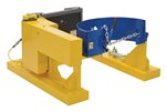 Fork Truck Drum Carrier, Rotator, DC Powered