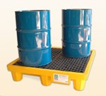 Four Drum Spill Pallet